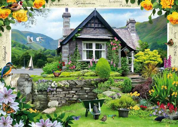 Country Cottage - Lakeland Cottage jigsaw puzzle