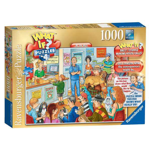 What If 4 - At The Vets jigsaw puzzle