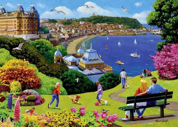 Happy Days - Scarborough - 1000pc jigsaw puzzle