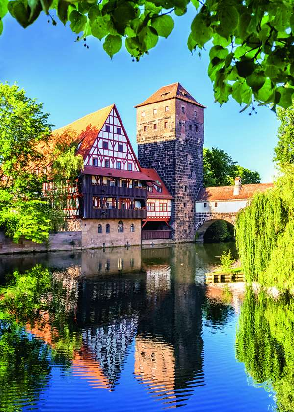 Nuremburg Reflections - 1000pc jigsaw puzzle