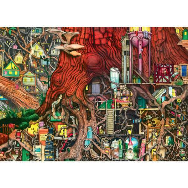 Colin Thompson - Hidden World - 1000pc jigsaw puzzle
