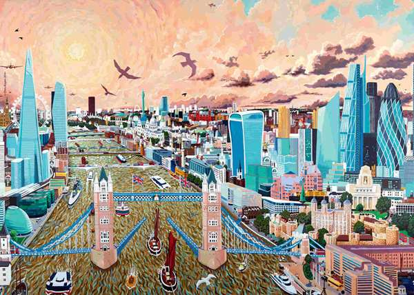 London - Eventide - 1000pc jigsaw puzzle