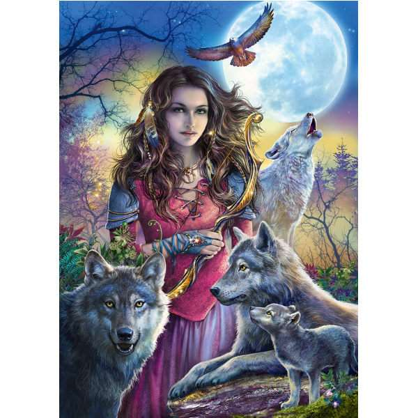 Protector of Wolves - 1000pc jigsaw puzzle