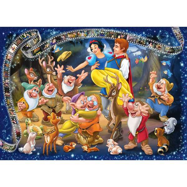 Snow White - Collectors Edition - 1000pc Jigsaw Puzzle ...