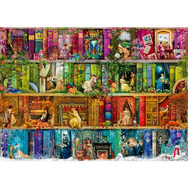 A Stitch in Time - 1000pc jigsaw puzzle