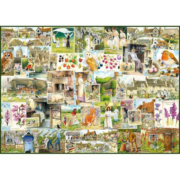Country Life - The 1900s - 1000pc jigsaw puzzle
