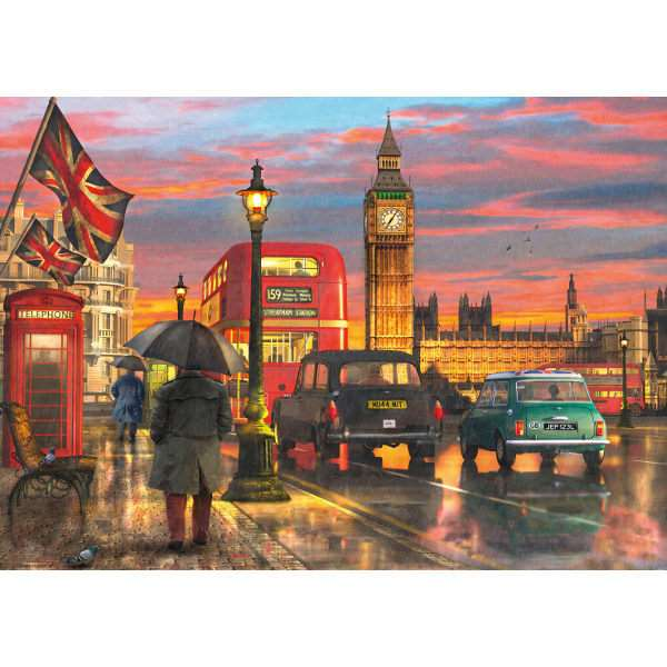 London - Westminster  Reflections - 1000pc jigsaw puzzle