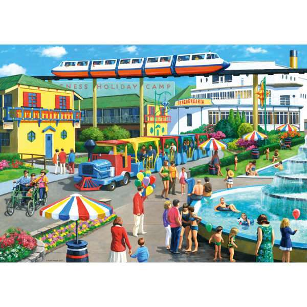 Holiday Camp Memories - 1000pc jigsaw puzzle