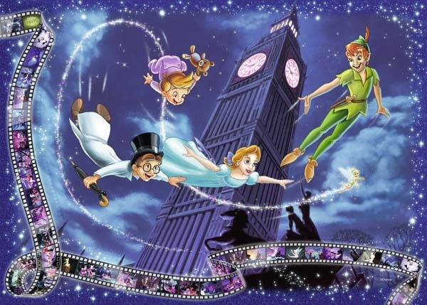 Disney Collectors Edition - Peter pan - 1000pc jigsaw puzzle
