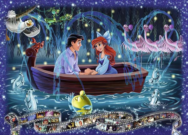 Disney Collectors Edition - The Little Mermaid - 1000pc jigsaw puzzle