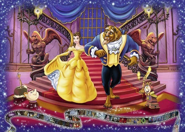 Disney Collectors Edition - Beauty and the Beast - 1000pc jigsaw puzzle