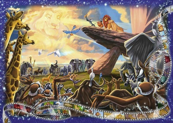 Disney Collectors Edition - The Lion King - 1000pc jigsaw puzzle