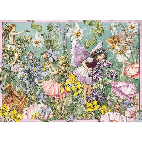 Flower Fairies - 1000pc jigsaw puzzle