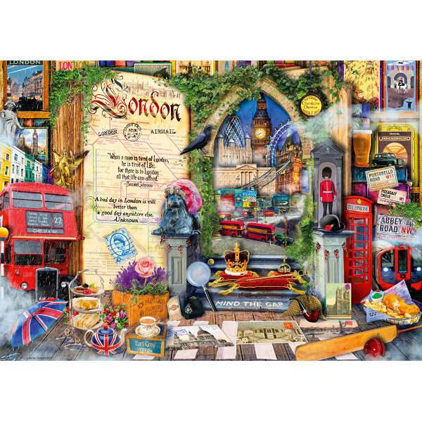 London Recollections - 1000pc jigsaw puzzle