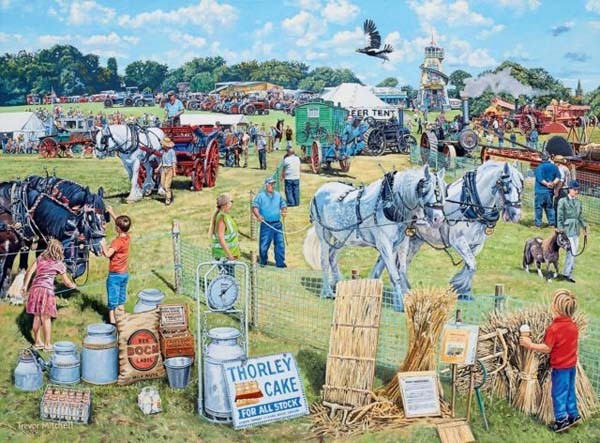 The Country Show - 1000pc jigsaw puzzle