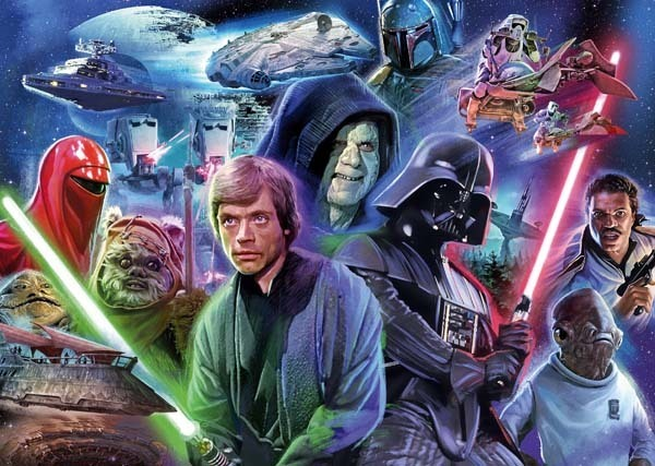 Star Wars Collection III - 1000pc jigsaw puzzle