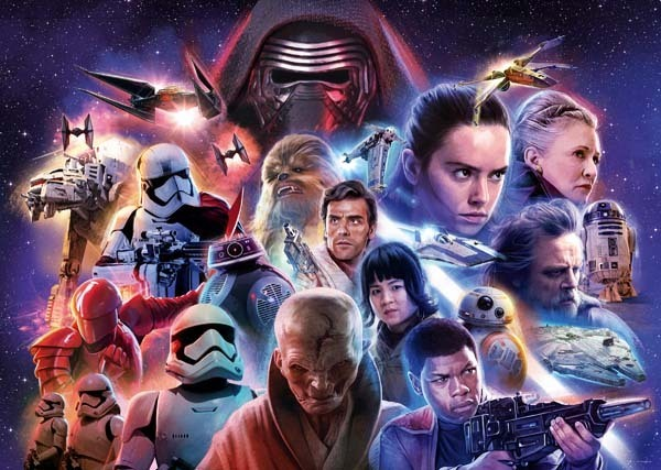 Star Wars Collection VIII - 1000pc jigsaw puzzle