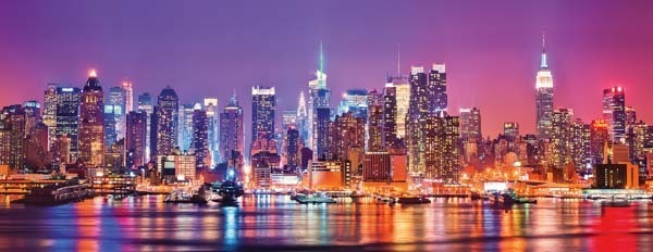 New York - Triptochon - Panoramic - 1000pc jigsaw puzzle