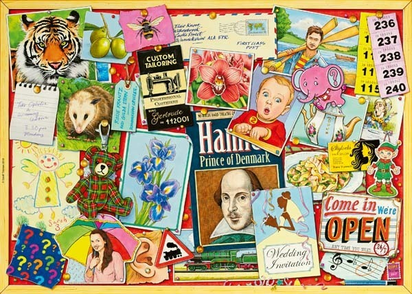 Pinboard Posters - 1000pc jigsaw puzzle