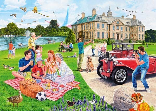 Days Out No1 - The Stately Home - 1000pc jigsaw puzzle
