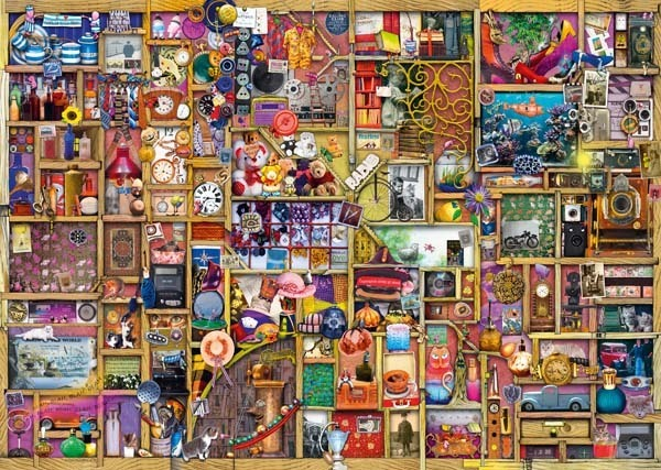 Colin Thompson - The Collectors Cupboard jigsaw puzzle