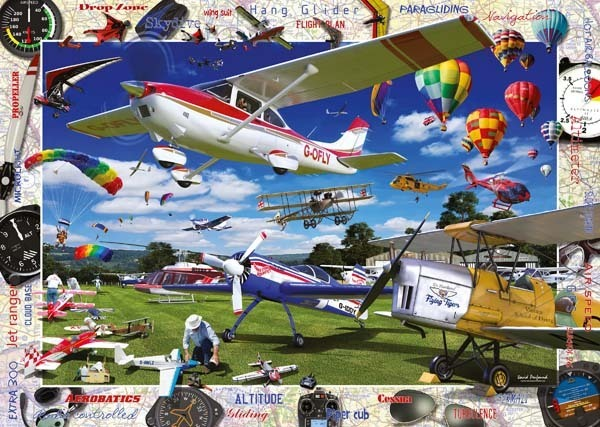 Take to the Skies - 1000pc jigsaw puzzle