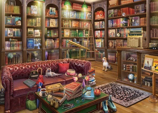 The Reading Room - 1000pc jigsaw puzzle