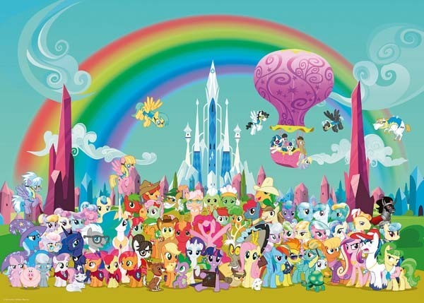My Little Pony - 1000pc jigsaw puzzle