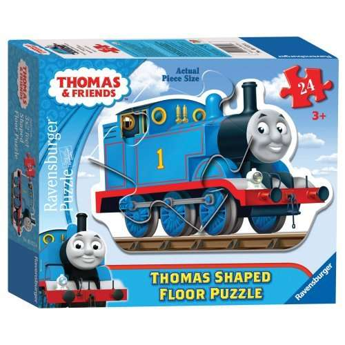 thomas shaped giant floor puzzle jigsaw puzzle from jigsaw puzzles direct