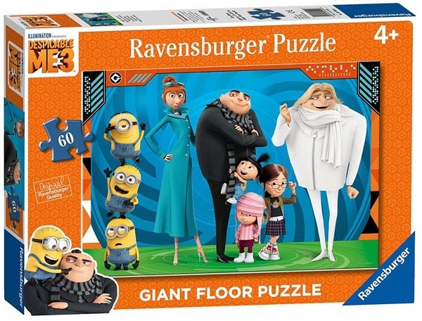 Despicable Me 3 - Giant Floor Puzzle - 60pc jigsaw puzzle