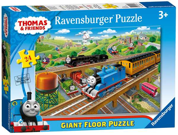 Thomas And Friends Busy Sodor Giant Floor Puzzle 24pc