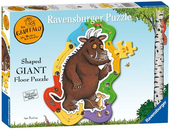 The Gruffalo - Shaped Floor Puzzle - 24pc jigsaw puzzle