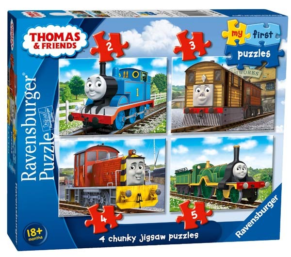 Thomas and Friends - My First Puzzles - 2, 3, 4, and 5pc jigsaw puzzle