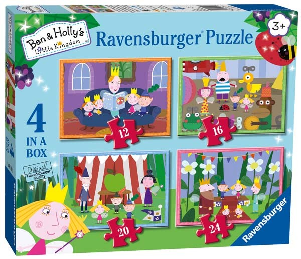 Ben and Holly - 4 in 1 jigsaw puzzle