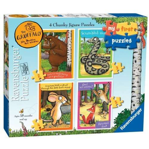 The Gruffalo - My First Puzzles jigsaw puzzle