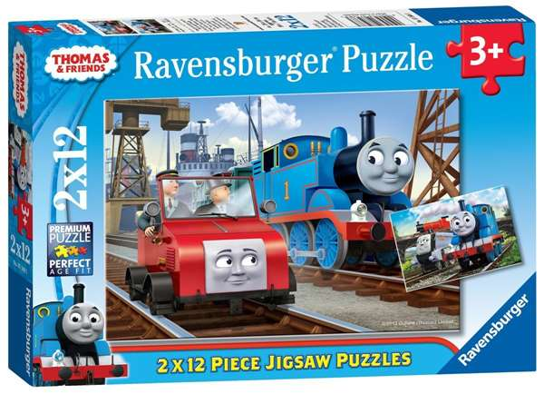 Thomas - 2 x 12 Piece jigsaw puzzle