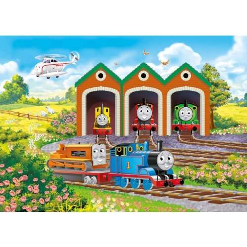 Thomas And Friends Shaped Floor Puzzle Jigsaw Puzzle From