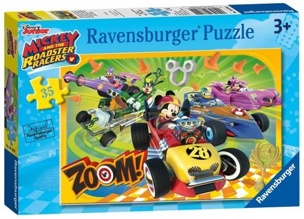 Mickey and the Roadster Racers - 35pc jigsaw puzzle