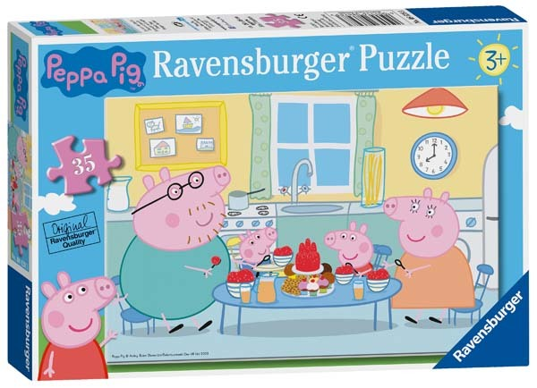 Peppa Pig - Family Time - 35pc jigsaw puzzle