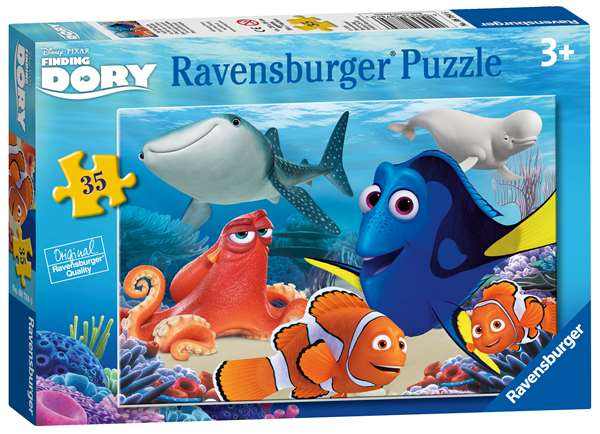 Finding Dory - 35pc jigsaw puzzle