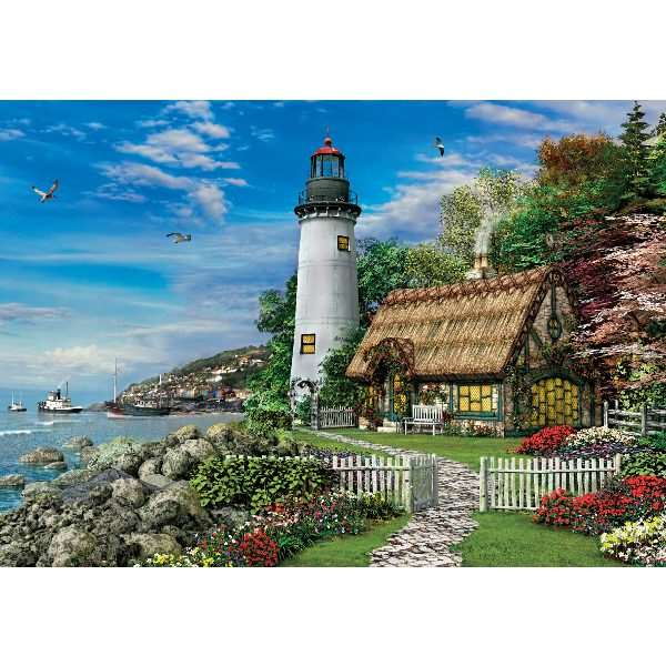 Romantic Lighthouse - 1500pc jigsaw puzzle
