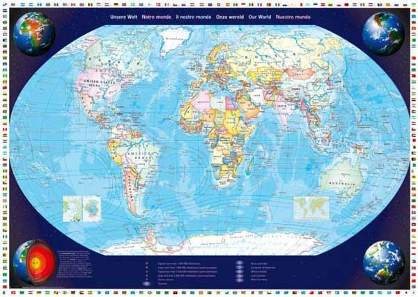 Our world map 2000pc jigsaw puzzle from jigsaw puzzles a5075 world our world map 2000pc jigsaw puzzle from jigsaw puzzles gumiabroncs Gallery
