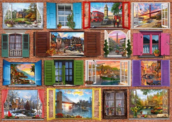 Open the Window - 1000pc jigsaw puzzle