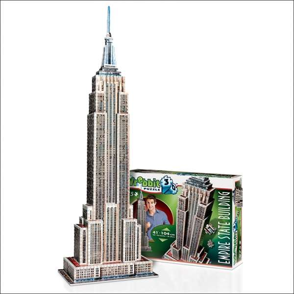 Empire State 3D Building jigsaw puzzle