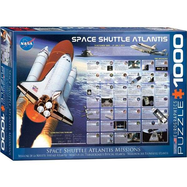 space shuttle atlantis chart - photo #43