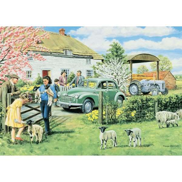 Spring Lambs jigsaw puzzle