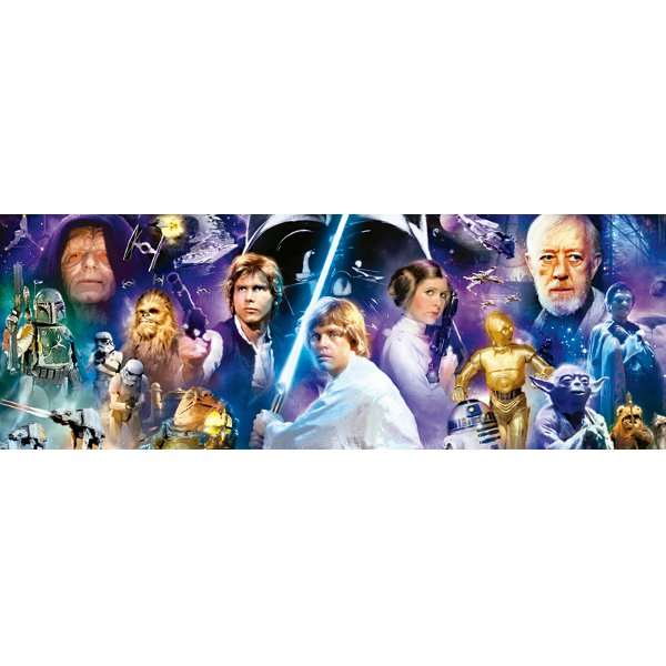 Star Wars - 1000pc - Panoramic jigsaw puzzle