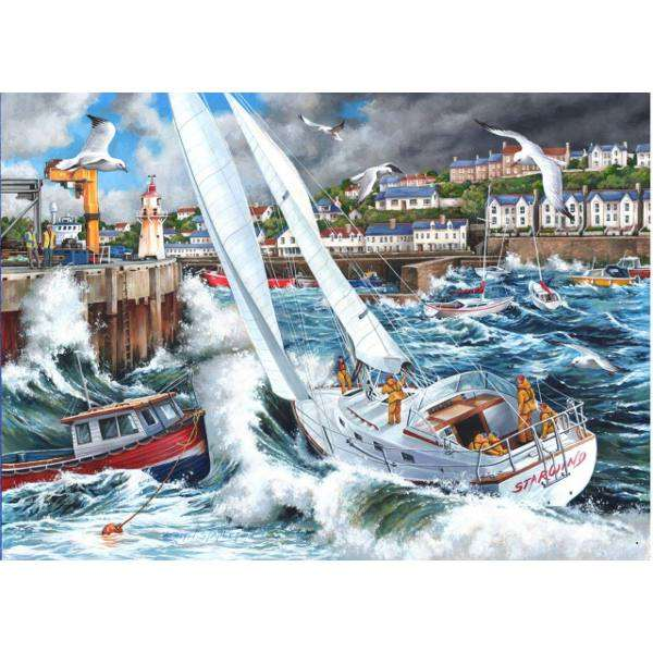 Storm Chased jigsaw puzzle