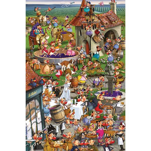 Story of Wine jigsaw puzzle