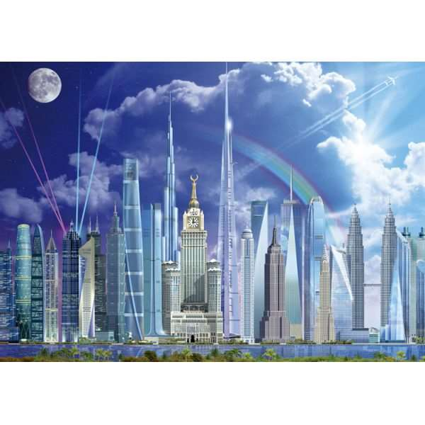 Tall Buildings - 1000pc jigsaw puzzle